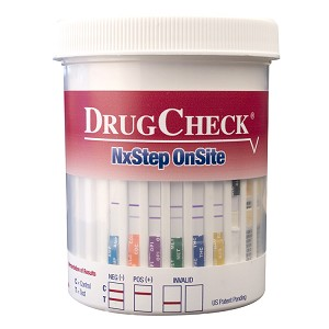 DrugCheck NxStep 10-Panel Urine Drug Test Cup