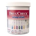 DrugCheck NxStep DOT Urine Drug Test Cup 7-Panel